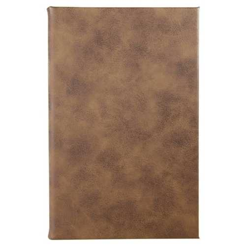 Laserable Leatherette Journal - Rustic/Gold (GFT660)