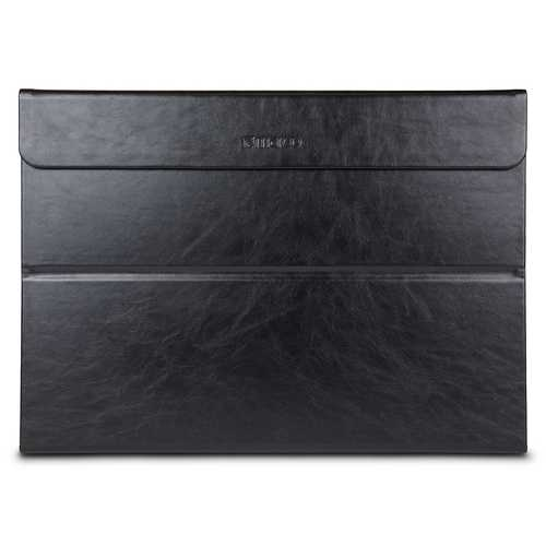 Maroo Premium Leather Magnetic Case for Surface Pro - Black