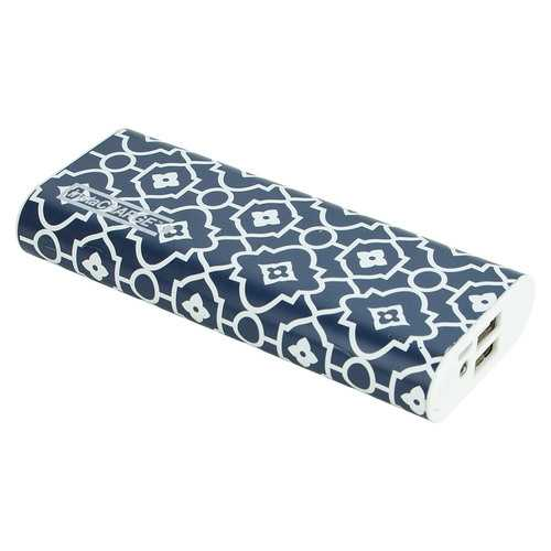 InstaCHARGE 12000mAh Dual USB Power Bank Portable Battery Charger Aztec