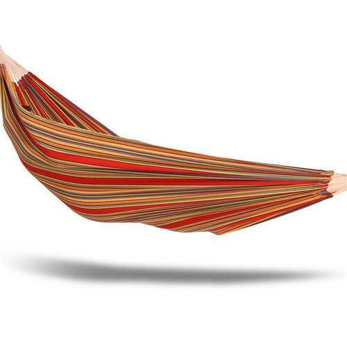 Castaway Oversized Hammock in a Bag 60 x 77 Brazilian Striped Great for Travel