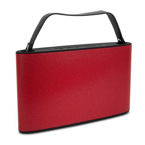 Cipe Handbag-Style Bluetooth Wireless Speaker & Powerbank, Red