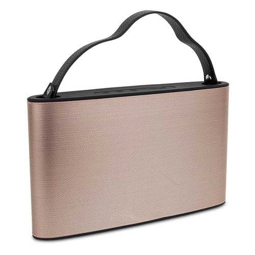 Cipe Handbag-Style Bluetooth Wireless Speaker & Powerbank, Pearl