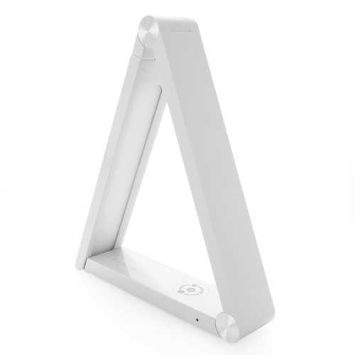 EpicXL Qi Wireless Charging Triangular LED Desk Lamp - White