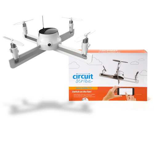 Circuit Scribe Drone Builder Kit-Build & Fly Your Own Drone with On-Board Camera