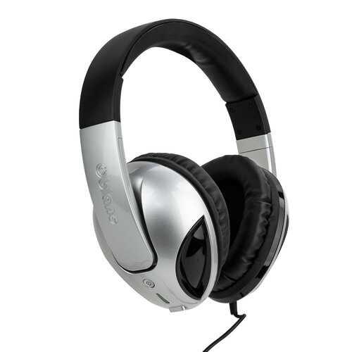 Syba NC-1 Cobra 2.1 Built-In Amplifier In-line Microphone Dual Driver Headphones
