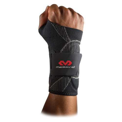McDavid Elite Engineered Elastic Wrist Support Sleeve (Small/Medium)