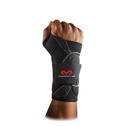 McDavid Elite Engineered Elastic Wrist Support Sleeve  (Large / X-large)