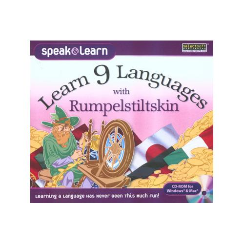 Learn 9 Languages with Rumpelstiltskin for Windows/Mac