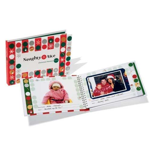 Naughty & Nice Christmas Memory Book