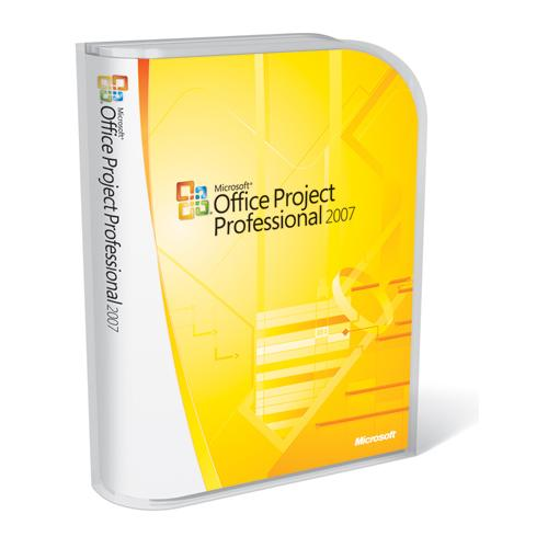 Microsoft Office Project Professional 2007 Upgrade (French Version)