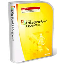 Category: Dropship Hobby, SKU #123366, Title: Microsoft Office SharePoint Designer 2007 - Upgrade