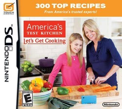 "America""s Test Kitchen: Let""s Get Cooking (Nintendo DS)"