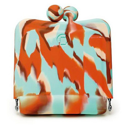 Candy Store Purse Mirror - Spumoni Swirl