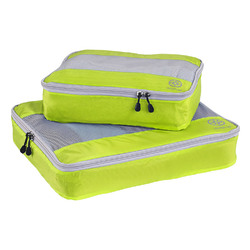 Uncharted Ultra-Lite Packing Cube 2 Piece Set, Neon Yellow