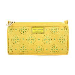 Jacki Design Cosmopolitan Compact Cosmetic Bag, Yellow