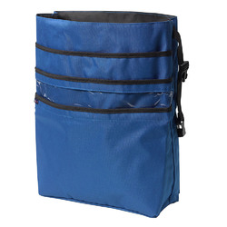 Drive Medical AgeWise Back of Wheelchair Organizer (Blue)