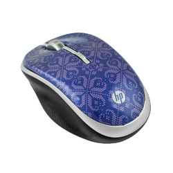 HP 2.4GHz Wireless Optical Mobile Mouse, Velvet Purple (Refurbished)