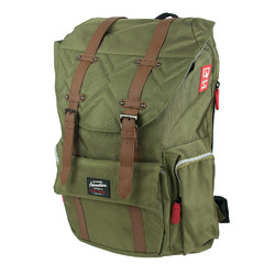 Travelers Club Heavy Duty Scout 18 Laptop Backpack - Green