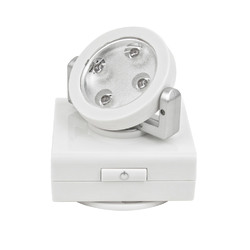 Rite Lite LPL740W 4 LED Wireless AAA Pivot and Swivel Light Spotlight