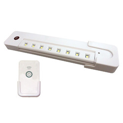 Rite Lite LPL1014WRC Remote Controlled LED Under Cabinet Light, White