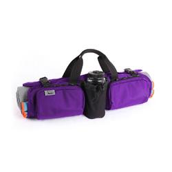 Category: Dropship General Merchandise, SKU #554405, Title: Skooba Design Hotdog Yoga Mat Carrying Gym Bag Case Rollpack Amethyst