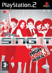 Disney Sing It: High School Musical 3 Senior Year (Playstation 2)