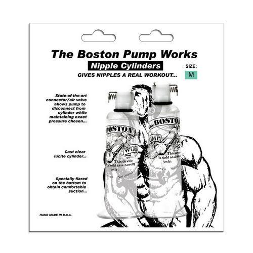 """Boston Pump Works Nipple Cylinders  3/4 """" - Pair"""
