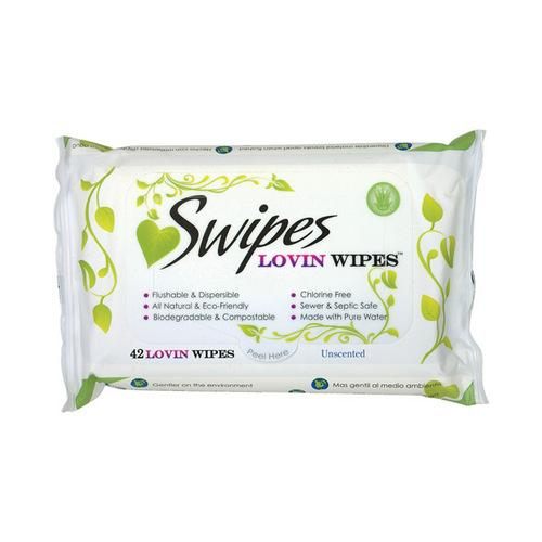 Swipes Lovin Wipes - Unscented Pack of 42