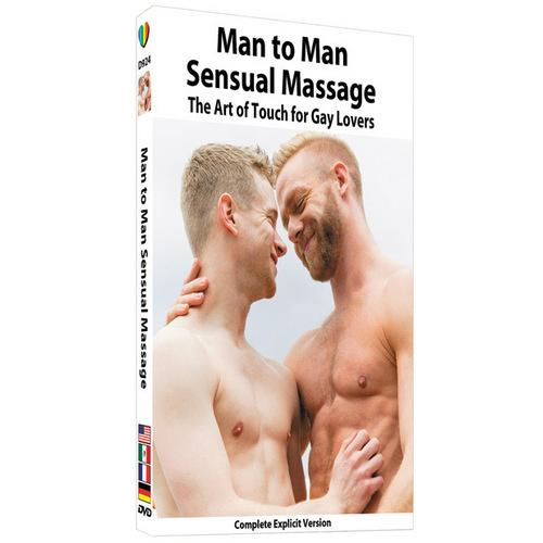 Man To Man Sensual Massage The Art Of Touch For Gay Lovers DVD