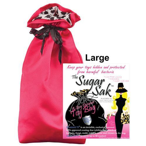 Sugar Sak Anti-Bacterial Toy Bag Large - Red