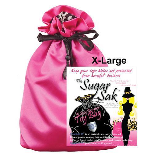 Sugar Sak Anti-Bacterial Toy Bag X Large - Pink