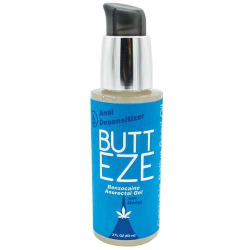 Butt Eze Anal Desensitizing Lubricant w/Hemp Seed Oil - 2 oz