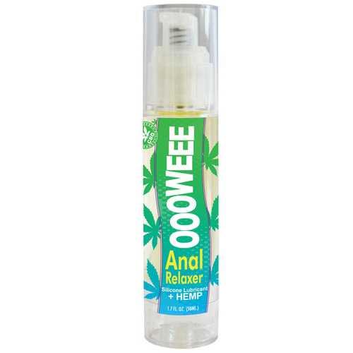 Ooowee Anal Relaxing Lubricant w/Hemp Seed Oil - 1.7 oz