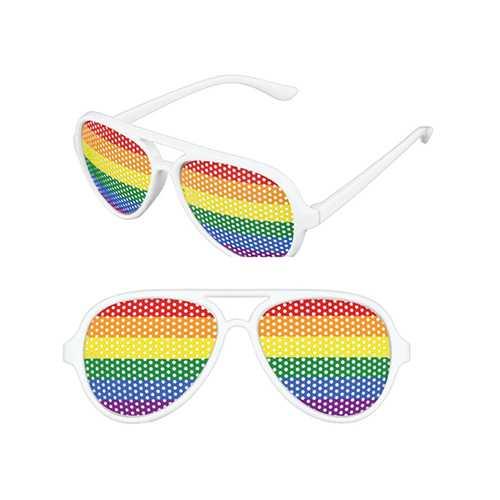 Pinhole Glasses - Rainbow
