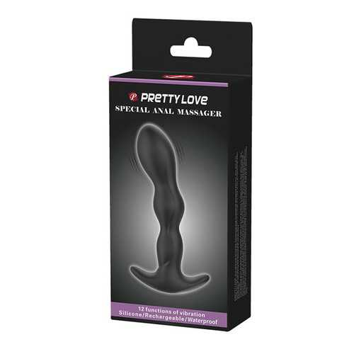 Pretty Love Special Anal Massager - Black