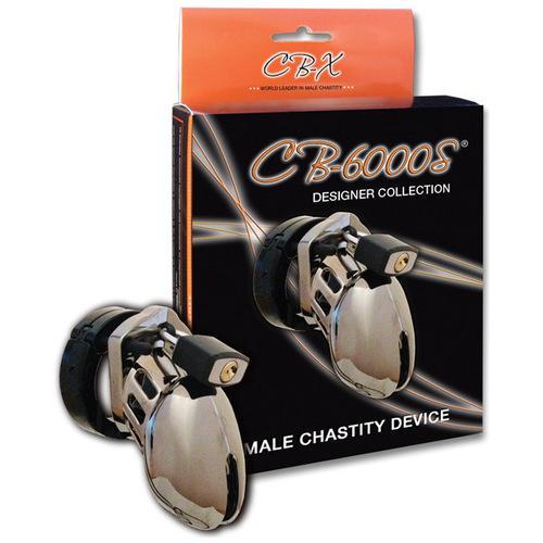 "CB-6000 2 1/2"" Cock Cage & Lock Set - Clhrome"