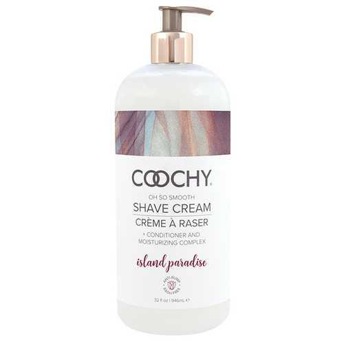 COOCHY Shave Cream - 32 oz Island Paradise