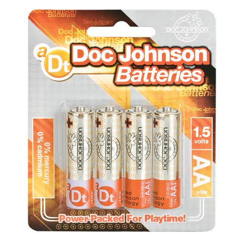 Doc Johnson Batteries - AA 4 Pack