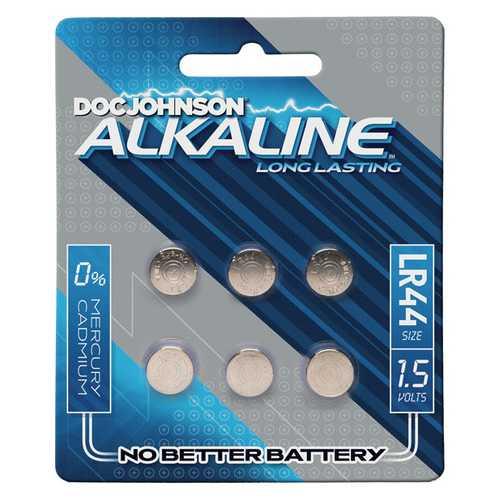 Doc Johnson Alkaline Batteries LR44 - Pack of 6