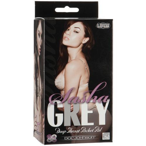 Sasha Grey Ultraskyn Deep Throat Sucker - Flesh