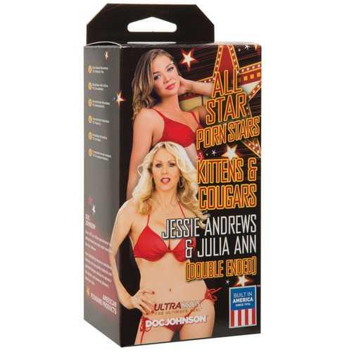 All Star Porn Stars Kittens & Cougars Jessie &rews Pussy & Julia Ann Pussy - Flesh
