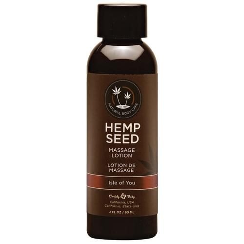Earthly Body Hemp Seed Massage Lotion - 2 oz Isle of You