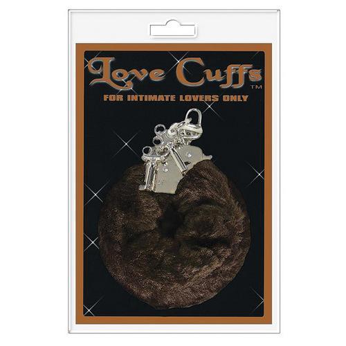 Love Cuffs Furry - Brown
