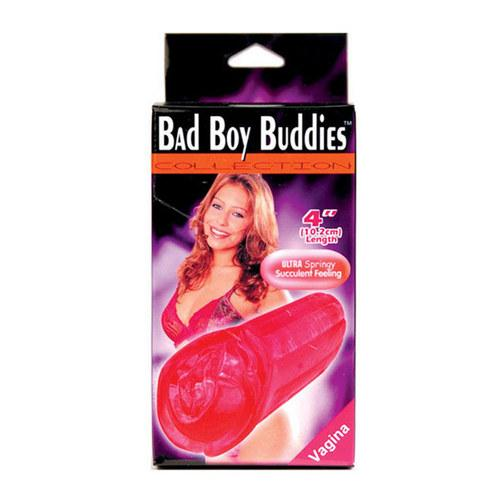 Bad Boy Buddies Vagina  - Red