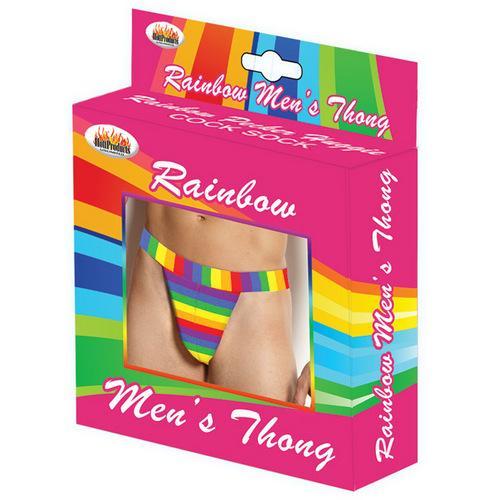 Rainbow Men's Thong