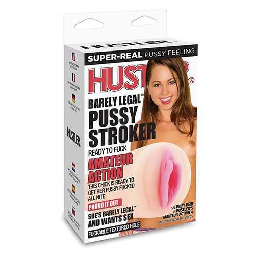 Hustler Barely Legal Riley Reid Pussy Stroker - Flesh