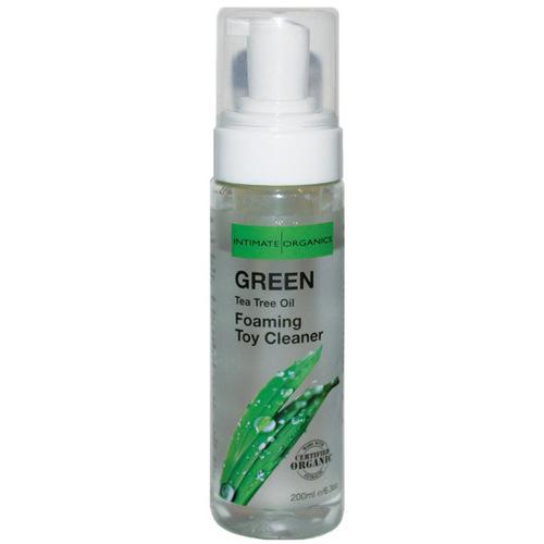Intimate Earth Foaming Toy Cleaner - 200 ml Green Tea Tree Oil
