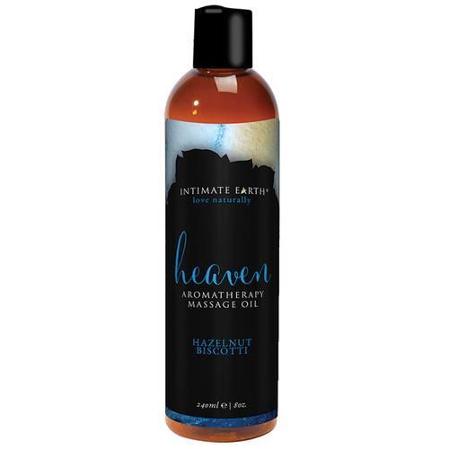 Intimate Earth Heaven Massage Oil - 240 ml Hazelnut Biscotti