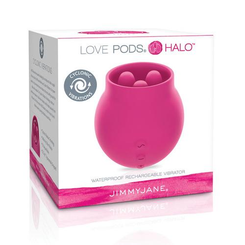 Jimmyjane Love Pods Halo Waterproof - Dark Pink