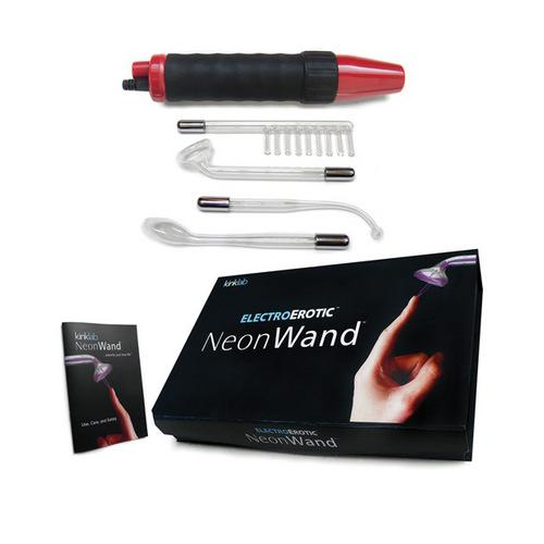 KinkLab Red Handle Neon Wand w/Red Electrode